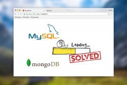MySQL  & Mongo DB problem • slow database connection
