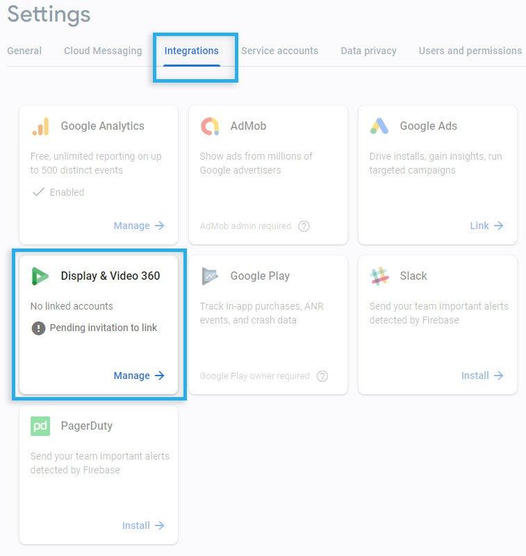 Google DV360 & Google CM / Pending confirmation