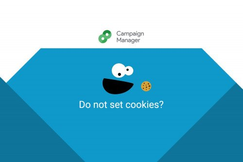 Do not set cookies? Google Campaign Manager
