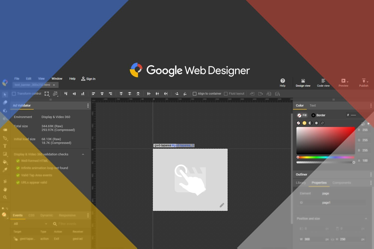 Learn how to build Rich Media Creatives • Google Web Designer