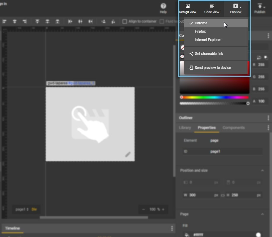 Creative Preview / Google Web Designer